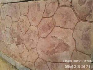 Duvar Baskı Beton Uygulamaları