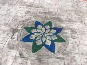Çiçek Madalyon Kalıbı