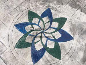 Çiçek Madalyon Kalıbı Bitmiş Hali