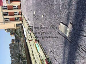 İstanbul Başakşehir Özel Çınar Fen Lisesi Baskı Beton Uygulamasına Devam