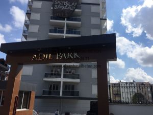 Sultangazi Adil Park Sitesi Baskı Beton Uygulaması