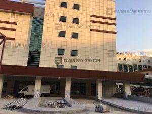 Yeni Yapılan İzmit Hastanesi Baskı Beton Uygulaması, Kocaeli