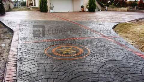 İzmir – Karşıyaka Duvar ve Zemin Baskı Beton Uygulaması