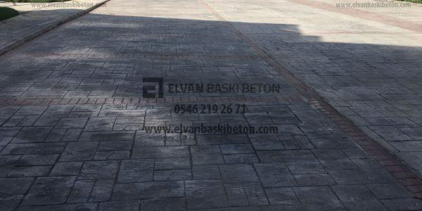 Sultangazi Adil Park Sitesi Baskı Beton Uygulama Sonrası